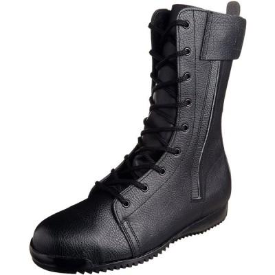 [シモン] 安全靴 長編上 3033都纏 メンズ 黒 24.0cm