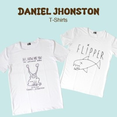 メール便 送料無料 ダニエルジョンストン Tシャツ 全2種類 ティーシャツ ロックT バンドT Nirvana カートコバーン