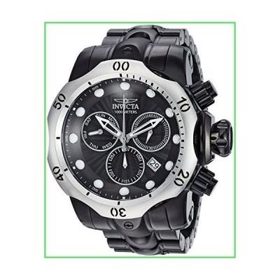 【全国送料無料】Invicta Men 's Venom ' QuartzステンレススチールCasual Watch , Color : Black ( Model : 23897?)【並行輸