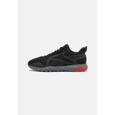 リーボック メンズ スポーツ用品 FLEXAGON FORCE 3.0 - Sports shoes - core black/pure grey/red