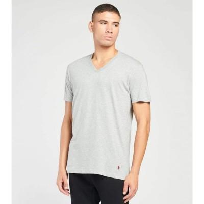 ポロ Polo メンズ Tシャツ 3点セット Vネック トップス 3 pack v neck tees GREY/BURG/BLACK