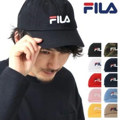 【レビューを書いてポイント+5%】FILA キャップ メンズ レディース 185713520 フィラ | 帽子 ローキャップ サイズ調整可能