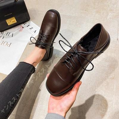 オックスフォード マニッシュ おじ靴 オフィス カジュアル フォーマル 太ヒール ローヒール 歩きやすい 黒 シンプル ローカット オックスフォードシューズ