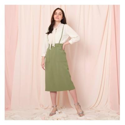 【クチュール ブローチ/Couture brooch】 サスペンダータイトスカート