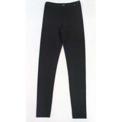 Valentino ヴァレンティノ ファッション パンツ Valentino NEW Black Womens Size Medium M Elastic-Waist Pants Stretch