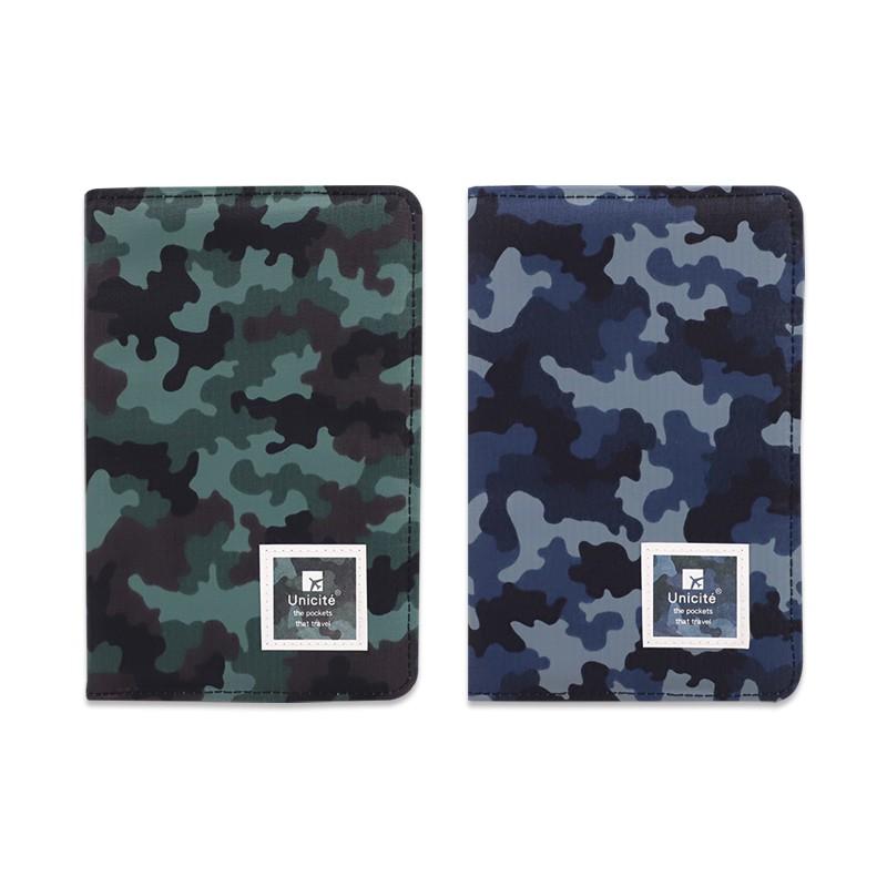 珠友 迷彩拉鍊護照短夾/護照包/護照套 (SN-25018)