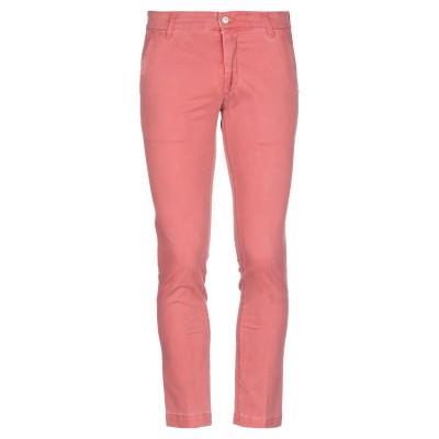 アントレ アミ ENTRE AMIS パンツ 赤茶色 33 コットン 96% / ポリウレタン 4% パンツ