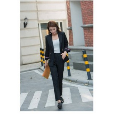 スーツ レディーススーツ 送料無料 フォーマル 入学式 パンツ フォーマル テーラードジャケット ロングパンツ ママ