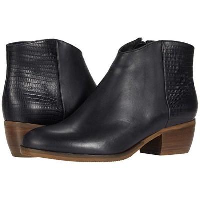 クラークス Mila Myth レディース ブーツ Black Combination Leather