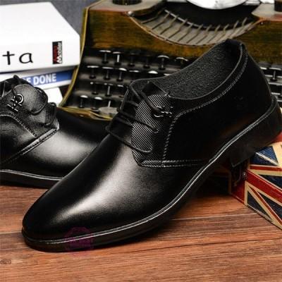 メンズシューズ 紳士靴 ビジネスシューズ ストレートチップ メンズ 歩きやすい 靴 PU革靴 シューズ