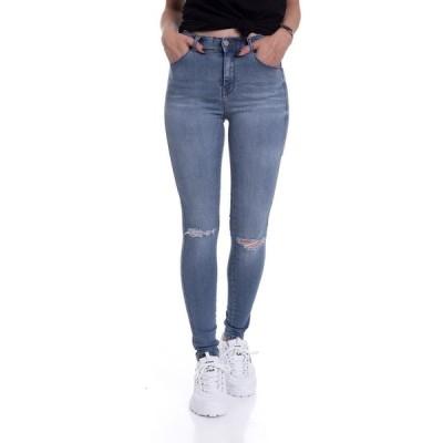 ドクターデニム Dr. Denim レディース ジーンズ・デニム リップドジーンズ ボトムス・パンツ - Lexy Laguna Blue Ripped - Jeans blue