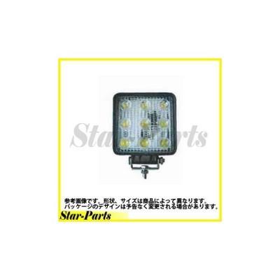 LED作業灯(角) 10V-80V 共通 27W LSL-1007B