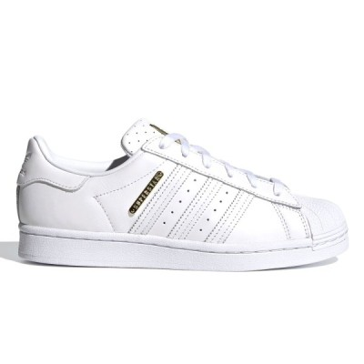 adidas SUPERSTAR W アディダス スーパースター ウィメンズ FTWR WHITE/FTWR WHITE/GOLD METALLIC fw3713