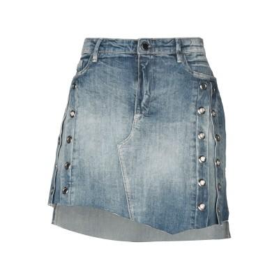ゲス GUESS デニムスカート ブルー 25 コットン 98% / ポリウレタン 2% デニムスカート