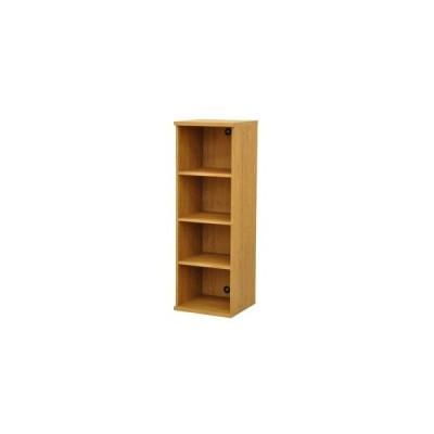ds-2262324 カラーボックス(収納棚/カスタマイズ家具) 4段 幅40×高さ120.3cm セレクト1240BR ブラウン【代引不可】 (ds2262324)