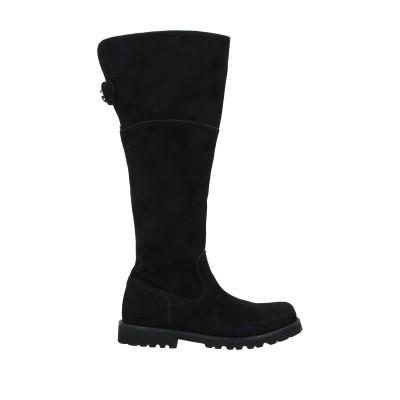 ドルチェ & ガッバーナ DOLCE & GABBANA ブーツ ブラック 25 革 ブーツ
