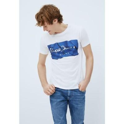 ペペジーンズ メンズ ファッション RAURY - Print T-shirt - azul