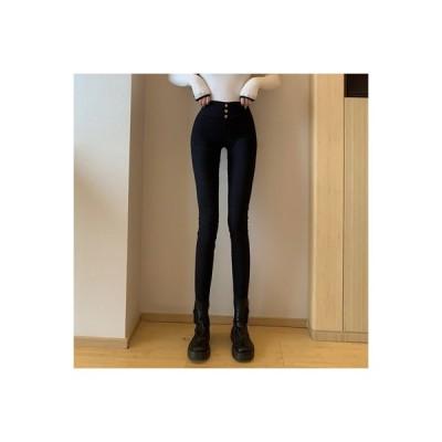 【送料無料】ブラック ハイウエスト レギンス 女 初秋 韓国風 ファッション アウトドア ストレッチ   364331_A63705-4980764