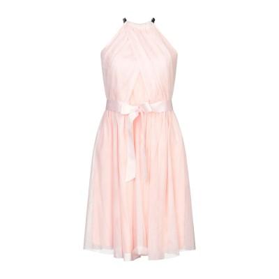 レリッシュ RELISH ミニワンピース&ドレス ライトピンク XS ポリエステル 100% ミニワンピース&ドレス