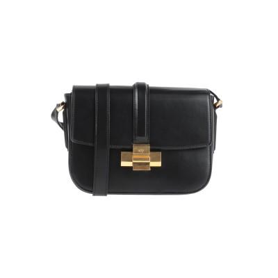 ヌメロ ヴェントゥーノ N°21 メッセンジャーバッグ ブラック 革 メッセンジャーバッグ