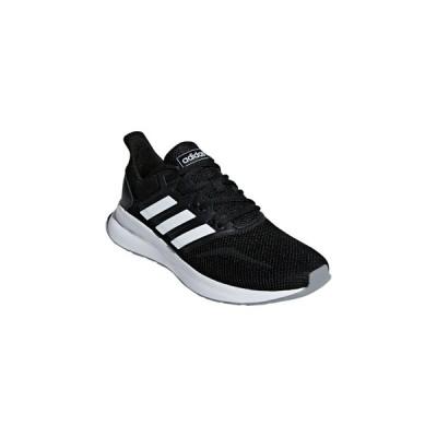 adidas/アディダス  FALCONRUN W 23.0cm (コアブラック×フットウェアホワイト×グレースリー) F36218