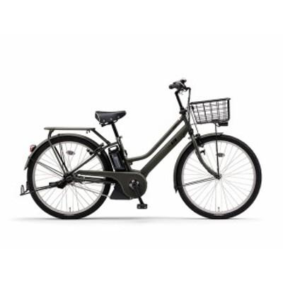 配送も店頭受取も可 電動自転車 ヤマハ 電動アシスト自転車 26インチ 3段変速ギア パス リン PAS RIN 2020 PA26AGRN0J マットオリーブ ツ
