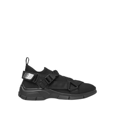 PRADA LINEA ROSSA スニーカー&テニスシューズ(ローカット) ブラック 7 紡績繊維 / 革 / ゴム スニーカー&テニスシューズ(