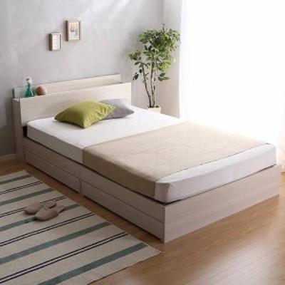 ベッド ダブル ベット ベッドフレーム おしゃれ 安い 北欧 2人 親子 チェストベッド ミドル ベッド下収納 引き出し付き 大容量 宮付き ヘ