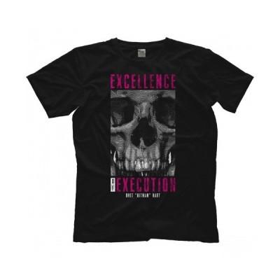 """""""ヒットマン""""ブレット・ハート Tシャツ「""""HITMAN"""" BRET HART Excellence Of Execution Tシャツ」  米直輸入プロレスTシャツ"""