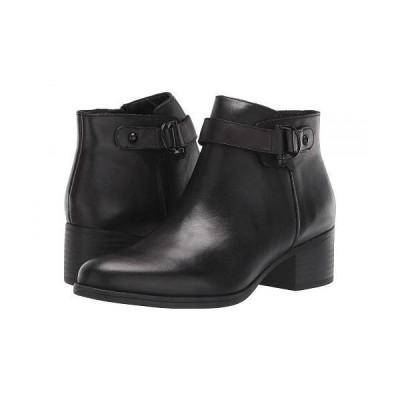 Naturalizer ナチュラライザー レディース 女性用 シューズ 靴 ブーツ アンクル ショートブーツ Drewe - Black Leather