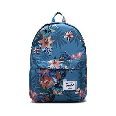 Herschel Classic Backpack, Summer Floral Heaven Blue, XL 30.0L 並行輸入品