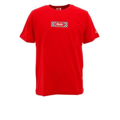 Tシャツ メンズ BOX LOGO 半袖 sl202002104-RED