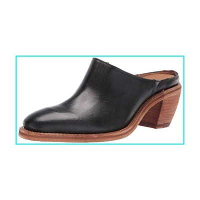Frye Women's Rosalia Mule, Black, 10 Medium US【並行輸入品】