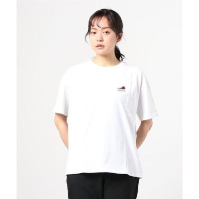 tシャツ Tシャツ CONVERS◆無地ワンポイントシューズ刺繍半袖Tシャツ