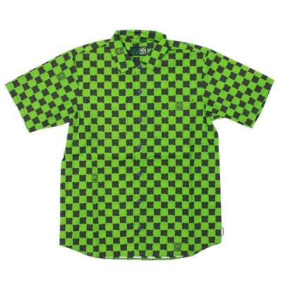 MxMxM DORO CHECKER SHIRT DOKU   チェックシャツ グリーン   (マジカル モッシュ ミスフィッツ)  (MAGICAL MOSH MISFITS)   (M×M×M)