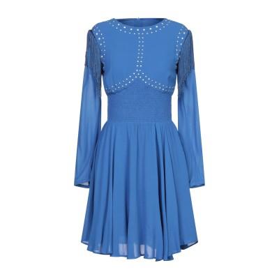 ピンコ PINKO ミニワンピース&ドレス ブライトブルー 40 レーヨン 100% ミニワンピース&ドレス
