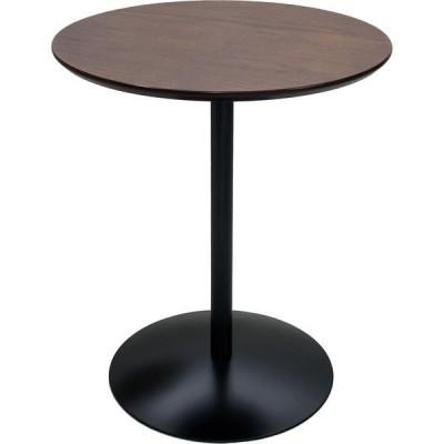 宮武製作所 サイドテーブル 幅450×奥行450×高さ535mm ブラウン ST-019_BR 1台(直送品)