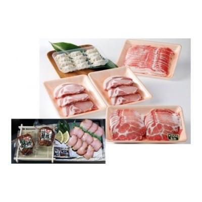 【B02062】特選黒豚大盛(約1.6kg)・黒豚焼豚2個・餃子セット