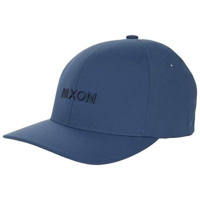 ニクソン Delta FF Hat メンズ 帽子 Horizon Blue