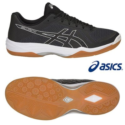 アシックス バレーボール シューズ ゲル-タクティク 1051a025-014 ブラック(BLACK) asics GEL-TACTIC 靴 黒 19SS