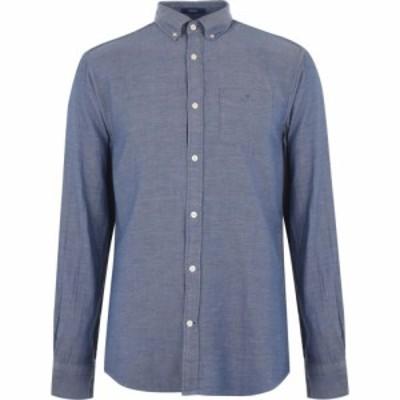 ガント Gant メンズ シャツ トップス 3 Colour Gingham Shirt Blue