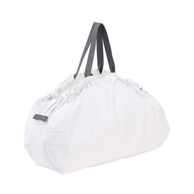 マーナ(MARNA) Shupatto (シュパット) コンパクトバッグ L ホワイト 一気にたためるエコバッグ (ホワイト Large)