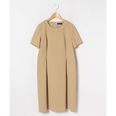 【ラピーヌ ルージュ】【大きいサイズ】インポートシアサッカードレス