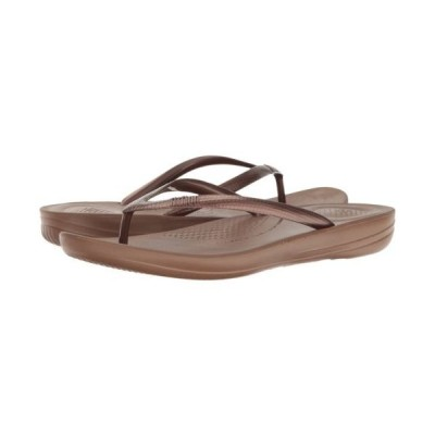 サンダル フィットフロップ FitFlop Iqushion Ergonomic Bronze Women's Flip flop E54-012-050