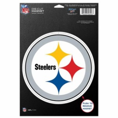 WinCraft ウィンクラフト スポーツ用品  WinCraft Pittsburgh Steelers 5 Die-Cut Car Magnet