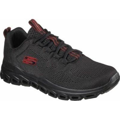 スケッチャーズ メンズ スニーカー シューズ Men's Skechers Glide-Step Fasten Up Sneaker Black/Black