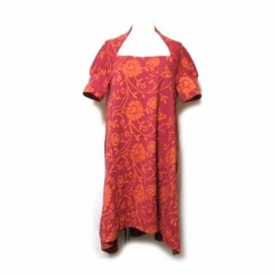 美品 Vivienne Westwood ヴィヴィアンウエストウッド「2」フラワーオーブワンピース (半袖 Aライン ORB) 127548