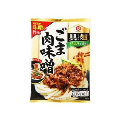 うまい村デイリー キッコーマン 具麺 ごま肉味噌 120g x10