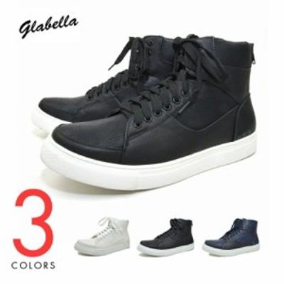 スニーカー 靴 くつ ハイカット ハイカットスニーカー   ブランド:glabella ( グラベラ )
