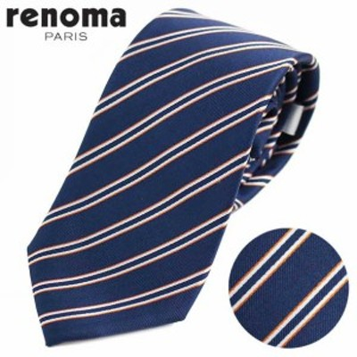 レノマ renoma ネクタイ ストライプ 2R 49086 2//2R-49086-2-HC